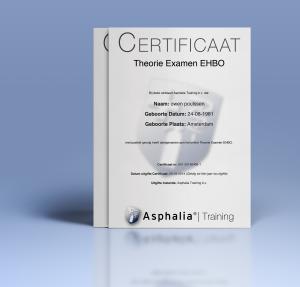 EHBO Theorie Certificaat Asphalia